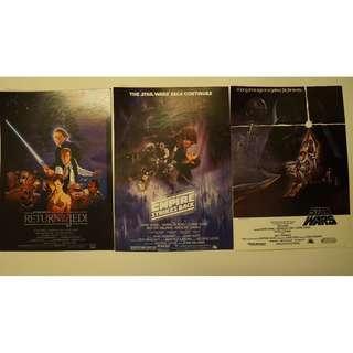 Star Wars Mini Posters (Original Trilogy) #3x100