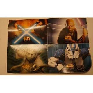 Star Wars Prequel Postcards #3x100