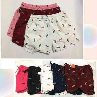 Urban Pipe Shorts with SUPREME Printed Ladies with Sizes