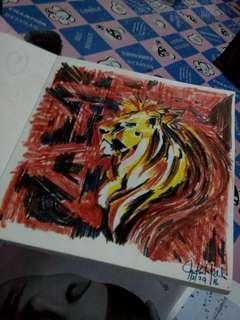 Color pen art