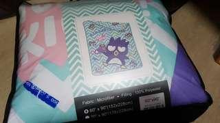 (New) badtz maru blanket from hong kong
