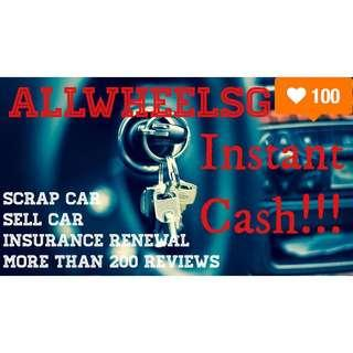 280plus reviews! Scrap car