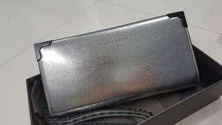 Charles & Keith dinner  bag - silver