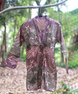 #MauiPhoneX Elegant batik dress