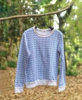 #MauiPhoneX Gaudi tribal navy sweatshirt