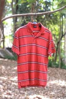#MauiPhoneX Uniqlo red stripes polo