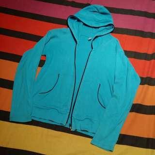Aqua Cotton Jacket