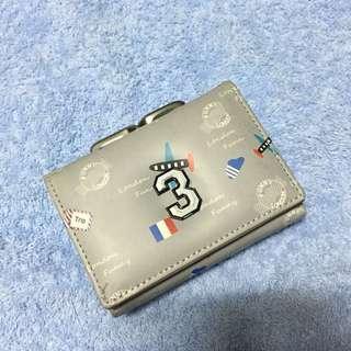 Cute foldable wallet