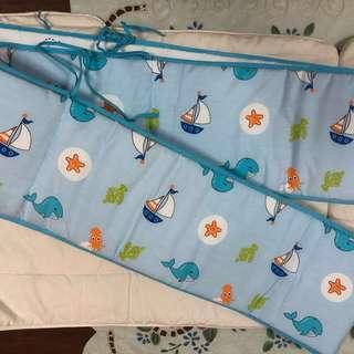 PRE❤️ SWEET CHERRY SEAWORLD BABY COT BUMPER