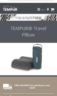 Tempur travel pillow brand new less almost 20 percent