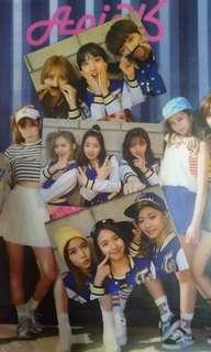 Twice Page Two Unit Photocards