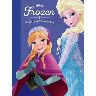(Brand New) The Story of Anna and Elsa (Frozen)  (Disney Princess) By: Disney Book Group [Hardcover]  For Ages: 6 - 7 years old