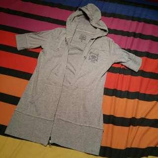 Gray HK Long Jacket
