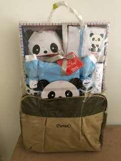 Puréen Diaper Bag & clothes set