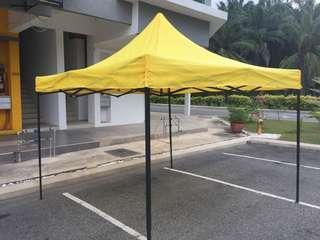 Khemah 10x10 canopy (kemah)