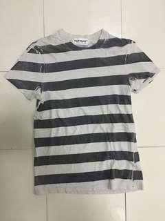 Topman Striped Tshirt