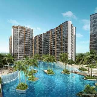 Coco Palms from $1,303psf! Near MRT, ready to move in.