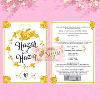 WC36 ~ Wedding Card