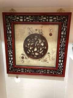 Chinese Beauties Wall Display