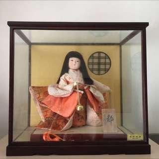 Japanese Doll In Display Box