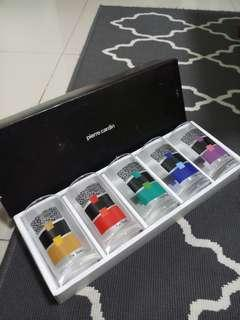 Clearance! PIERRE CARDIN 5pcs tumbler set  new set(Made in Japan)