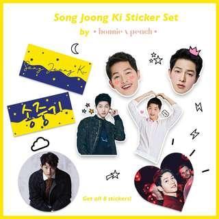 Song Joong Ki Sticker Set
