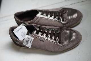 Sneaker GEOX D MYRIA E - Suede+Pear