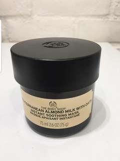 Body Shop Almond and Oats Mask