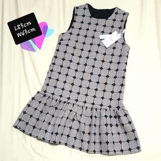 Brown Checkers Dress (Fits M)