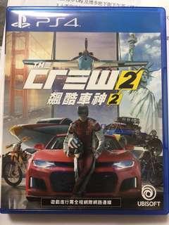 PS4 The Crew 2 中英版