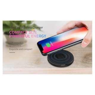 🚚 Mini Wireless High Speed Charger 10W Output Fast Charging