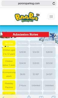 Pororo Park Adult Ticket
