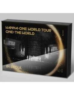 (SHARE) Wanna One ONE:THE WORLD DVD & Kihno