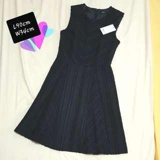 Black Mesh Dress (Fits M)