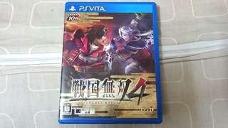 PS Vita Game~ SENGOKU MUSOU 4 ( Japanese Version). 💯% WORKING GAME & TESTED!!!. ** PLEASE REPLY ME IN ENGLISH!!! 🤗 **
