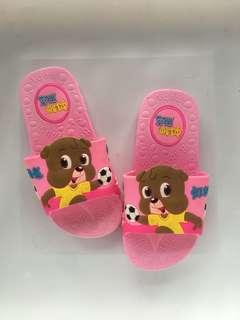 Pink Rubber Slippers