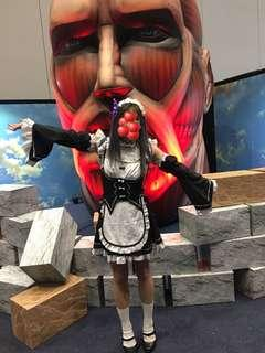 Ram re zero cosplay anime costume