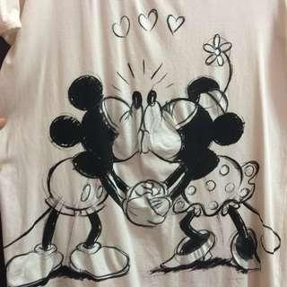 MNG Disney Mickey Minnie T Shirt #3x100