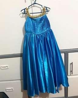 Custom Made Children's Gown with Bag