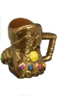 PO: Marvel Infinity Wars Gauntlet Shaped Ceramic Soup Coffee Mug, 20 oz