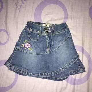 guess • denim skirt (kids)