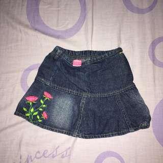 disney • denim skirt (kids)