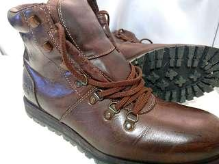 Timberland Earthkeepers orginals dark brown leather boots