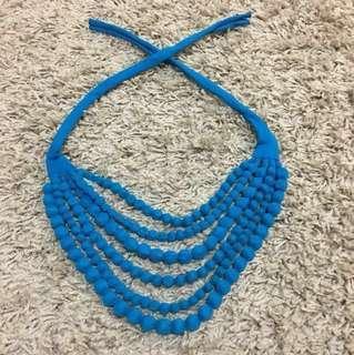 Necklace (blue)