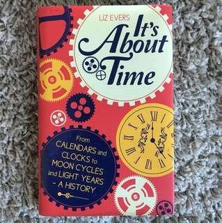 It's About Time novel (hard-cover)