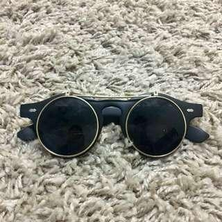 Black Trendy Sunglasses