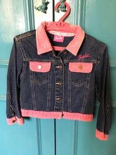barbie • denim jacket (kids)