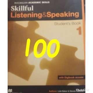 skillful listening&speaking
