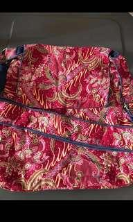 New batik cloth bag reversible