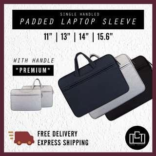 """🚚 🔅cT🔅 SINGLE HANDLED ST Laptop sleeve 15.6 laptop bag casing 15.6 inch 15.6"""" all laptops CLEARANCE SALE"""